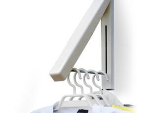 欧式墙壁挂衣架可收缩创意折叠凉衣架不锈钢室内晾衣架特价包邮,