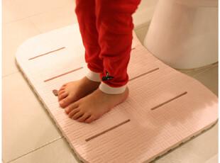 ★公主梦想★韩国家居*柔软舒适*浴室卫生间用抗菌地垫W1647,浴室垫,