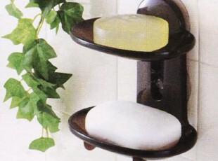 【日本进口】双层皂架 两格肥皂架 双格皂架 肥皂盒/香皂盒,