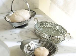 【纽约下城公园】 镀银铜质古典皂盒(三种样式可选),