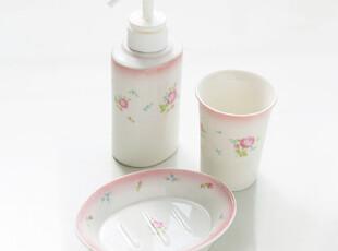 ★公主梦想★韩国*来自日本*Sweet Rose*浴室用品三件套W1645,