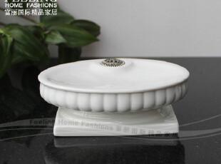 出口★巴洛克陶瓷肥皂盘皂盒皂架~索玛里★高级新居结婚乔迁礼物,