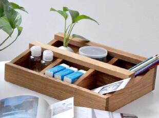 包邮 WOODHOO 实木饰品收纳 首饰盒 置物架,浴室储物,