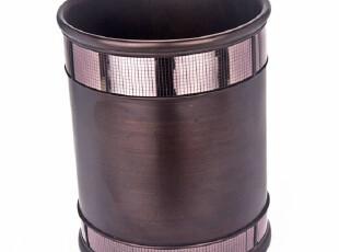 正想 Elan copper 高品质豪华 树脂收纳桶垃圾桶杂物 高档家居,浴室储物,