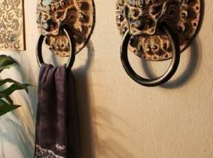 新中式家居饰品仿古典墙面浮雕立体壁饰墙饰装饰品 毛巾架-春秋,毛巾架,