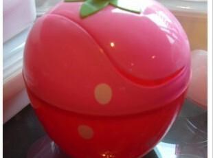 热卖出口日本可爱草莓创意桌面垃圾桶时尚纸巾盒卡通置物桶收纳桶,浴室储物,