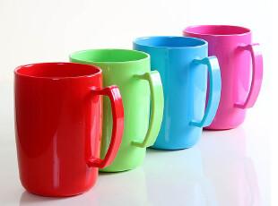单只装 糖果色漱口杯 加厚塑料杯 刷牙杯子创意阿童木水杯涑口杯,