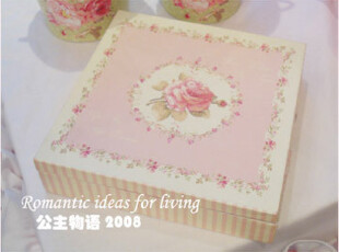 『韩国网站代购』*玫瑰情怀*餐巾纸+盒子套装,