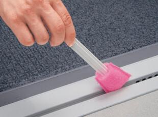 淘金币 日本LEC 纤维缝隙刷 死角海绵刷 清洁各种死角缝隙 清洁刷,