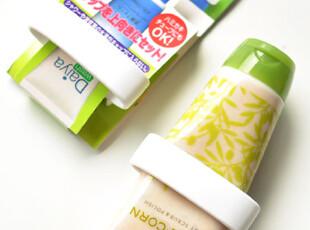 日本 空间利用 吸盘式牙膏架/洗面奶置物架,