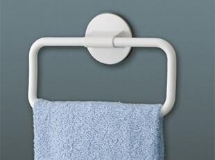 日本LEC 吸壁式毛巾挂架 吸盘毛巾架  卫浴收纳 毛巾杆  带辅助贴,毛巾架,