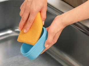 日本LEC 海绵擦  厨房用品 清洁海绵 洗碗海绵 洗碗布 洗碗刷,