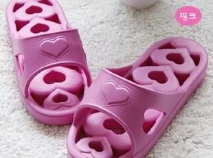 ★公主梦想★韩国家居*甜蜜的心*浴室用拖鞋*新色入W2027限时特价,