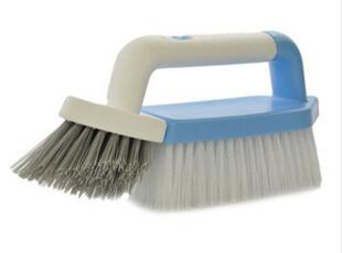 日本AISEN地板清洁刷 拆卸双刷头 地砖刷 手柄缝隙刷 瓷砖清洗刷,