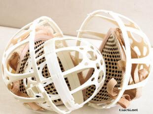 [多朵]内衣清洗保护球/文胸护洗球/双球形文胸护洗袋 150,