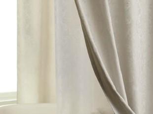 【纽约下城公园】欧式优美卷草提花纹浴帘(四色),