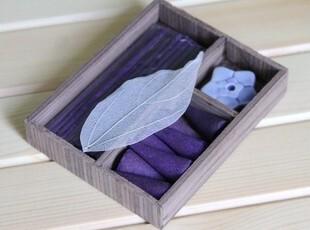 印度香薰香料熏香锥香线香佛香[星形]木盒包装卫生间香薰 驱蚊香,