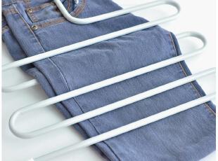 默默爱♥时尚简约 多功能 创意 不锈钢 多层裤架 魔术裤架裤夹,