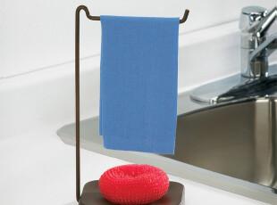 加拿大UMBRA原装进口正品  时尚简约实用抹布收纳一体支架毛巾架,毛巾架,
