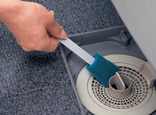 日本LEC多用除霉缝隙刷 清理死角海绵擦 无需洗剂带替换装 3个装,