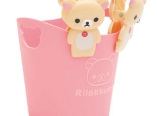 正品Rilakkuma轻松熊新生活【晾衣杂物夹+小桶套装】4467 0.15kg,