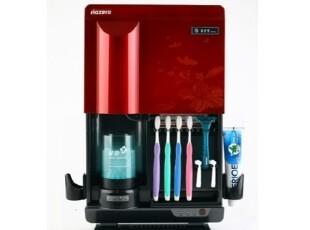 韩国代购 杀菌水制造器+牙刷紫外线消毒干燥器/牙膏座,