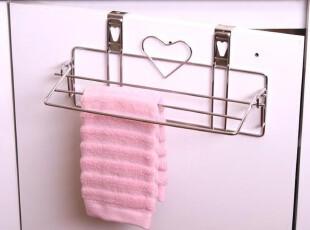 韩国代购 不锈钢多功能 厨房卫浴用毛巾收纳架/抹布收纳架,浴室储物,