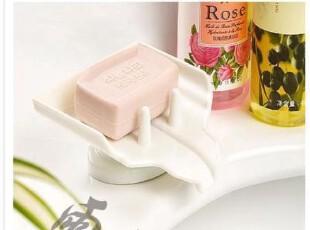 A升级版带吸盘自动沥水功能,不积水香皂盒,多功能肥皂盒,
