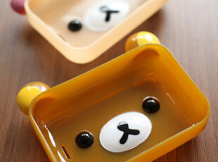 san-x Rilakkuma 可爱轻松小熊松弛熊 轻松熊 肥皂盒 肥皂盘 2色,