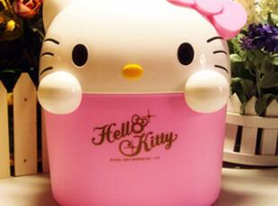 出口Hello Kitty 垃圾桶/收纳桶/杂物桶/车载垃圾桶 限量版,浴室储物,