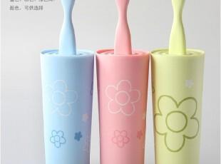 飞达三和 多彩鱼形 马桶刷套装 马桶刷 塑料 简约三色,马桶配饰,