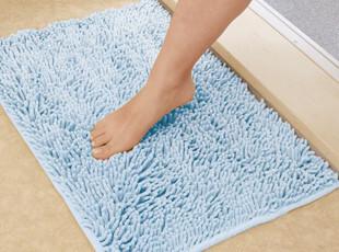 新品 日本纤维防滑垫 高质浴室地垫 吸水垫 瞬间吸水防滑 M号,浴室垫,