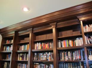 ,传统格调,书房,