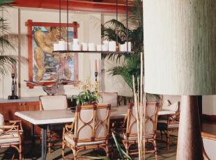 ,热带风情,餐厅,