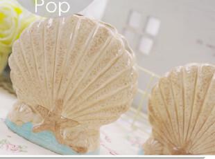 海洋梦想。个性立体手做陶瓷牙刷筒 地中海风格 卫浴外贸出口欧美,