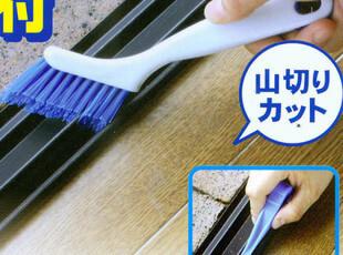 日本KOKUBO 缝隙刷 清洁刷 窗台缝隙刷 去污刷 两用清洁刷 2633,
