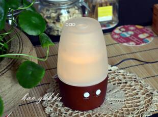 BAO ZAKKA 杂货 日式木头底座 插电式家用香薰机 加湿器 送精油,