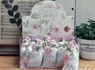 BAO ZAKKA 杂货 布袋 香薰小香包 (玫瑰和薰衣草的混合香味)2包,