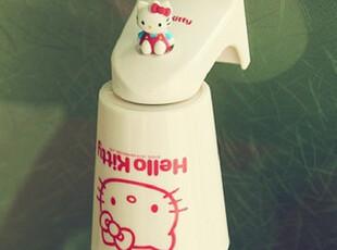 韩国进口 hello kitty 儿童漱口杯子 磁铁吸附式水杯 正品,