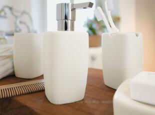 瑞士Spirella|RETRO简约 浴室用品套件 哑面陶瓷卫浴四件套装包邮,