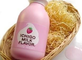 ★公主梦想★韩国家居*来自日本*宝蓝最爱用草莓香浴液W1933,