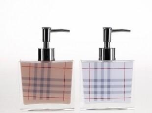 疯狂特价 英格兰亚克力 时尚创意精品卫浴 乳液瓶洗手瓶 白色,