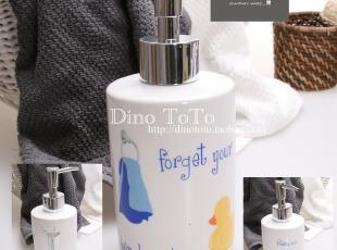特色杂图 外单陶瓷厨房卫浴用品具配件洗洁乳液香水瓶器 现货实拍,