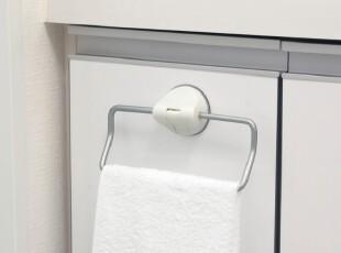 日本LEC 毛巾架 毛巾挂 铝合金毛巾架 吸盘挂钩 吸壁毛巾挂 B-076,毛巾架,