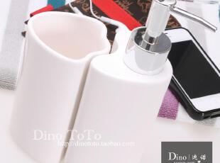 特殊白色 陶瓷卫浴配件两件洗漱套装件浴室用品组 厂销现货实拍,