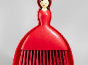 美国代购 Dollhouse Brush & Dustpan Set 女人头扫把/簸箕套装,