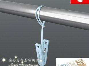 日本进口LEC 晒衣夹晾衣夹 创意带挂绳防脱落塑料晾晒夹子 15个装,