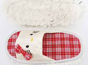 hello kitty擦地拖鞋 kitty拖鞋 擦地鞋 可拆洗,