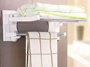 冲冠七折疯狂促销吸盘置物架 折叠浴巾架毛巾架 置物架 40cm,毛巾架,