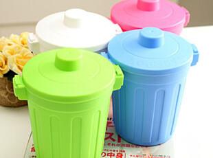 懒角落★创意家居 复古缩小版 小款 收纳桶杂物桶垃圾筒 33196,浴室储物,